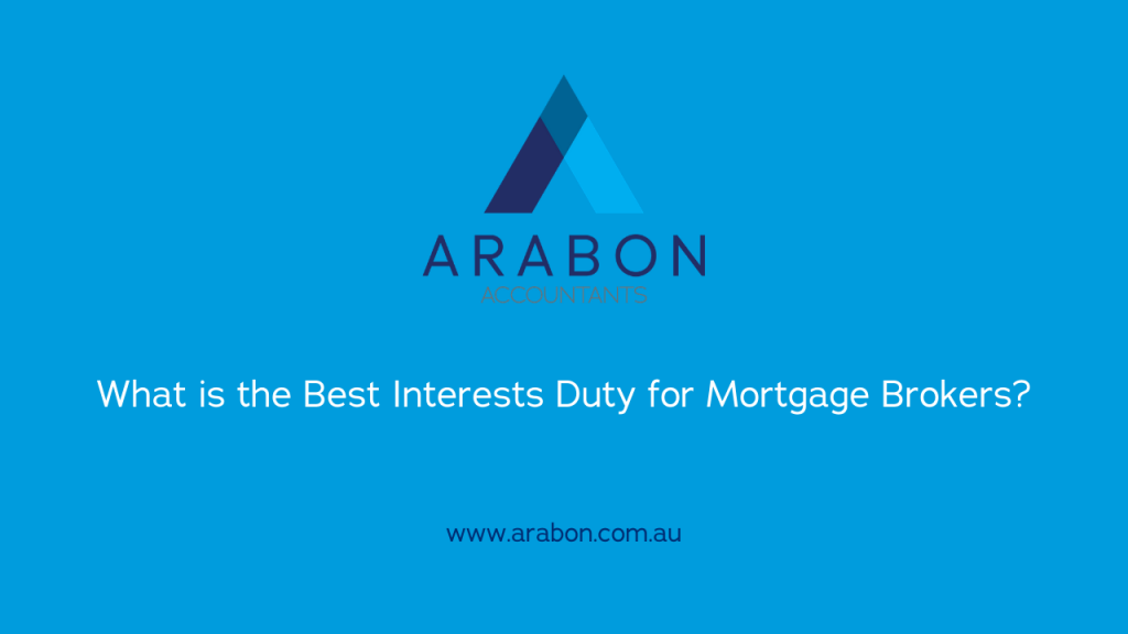 Arabon Accountants Best Interests Duty
