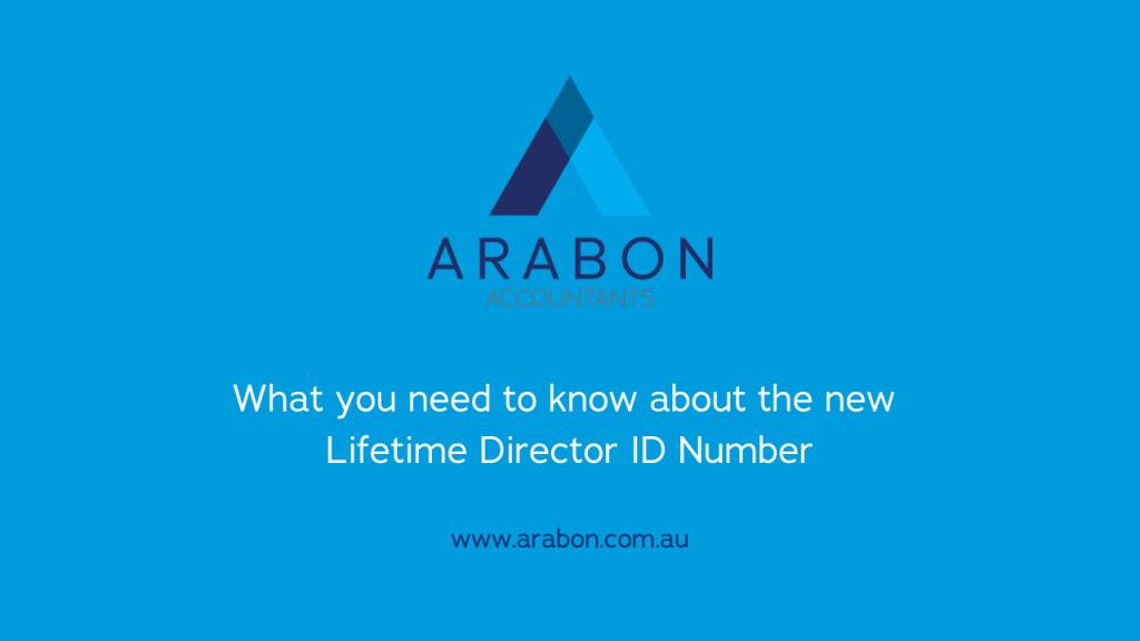Arabon Accountants Director ID Number