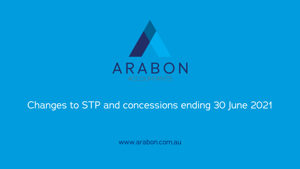 Arabon Accountants STP updates June 2021