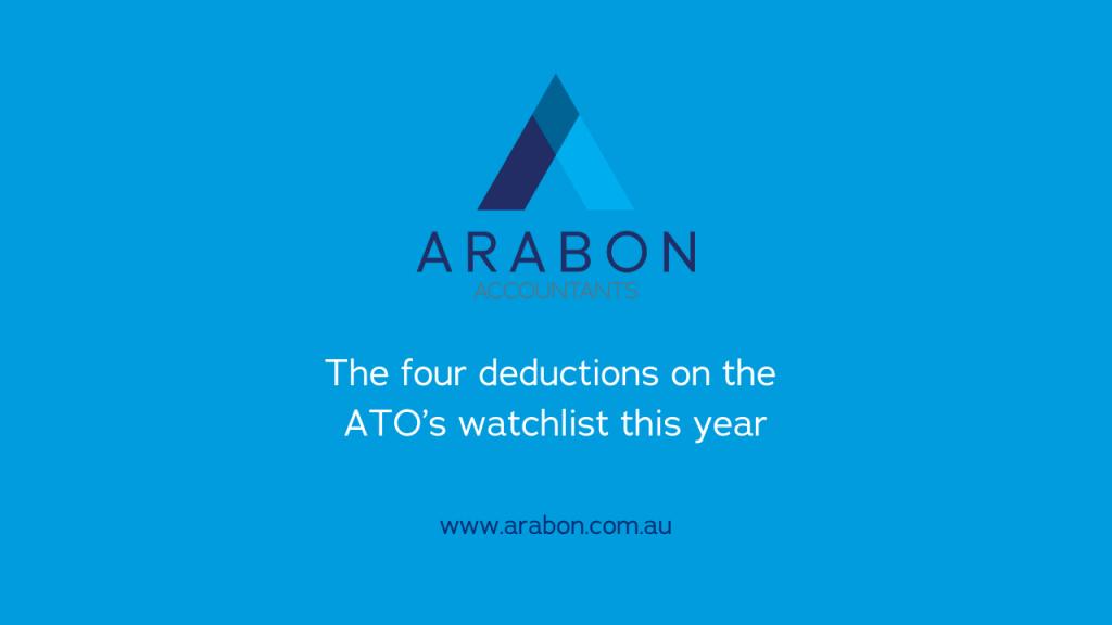 Arabon Accountants ATO deductions