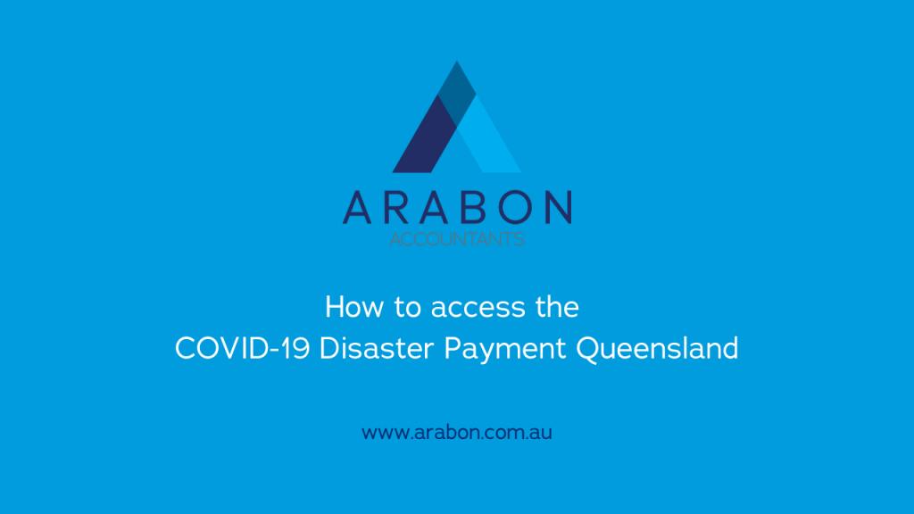 Arabon Accountants COVID-19 Disaster Payment