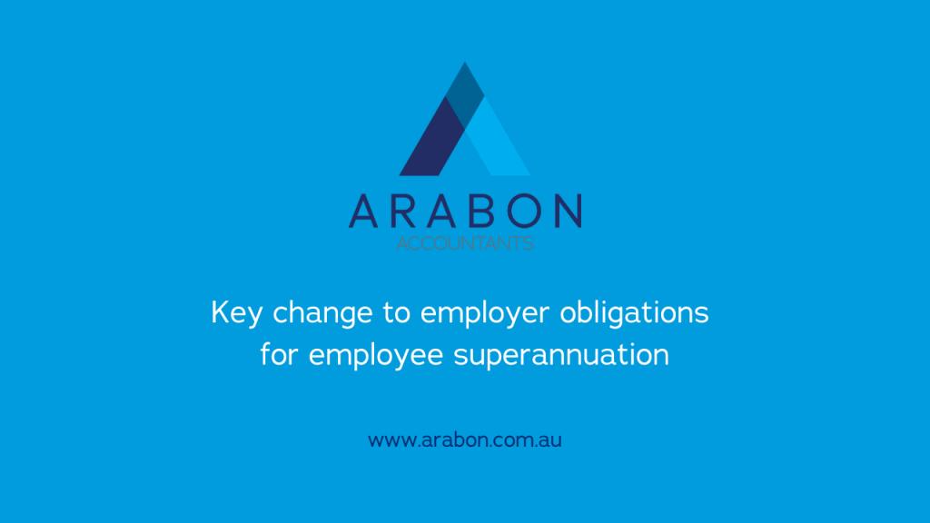 Arabon Accountants change to employee super